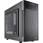 "Corsair Carbide Series 88R MicroATX Mid-Tower Case - Mid-tower - Black - Steel - 5 x Bay - 1 x 4.72"" (120 mm) x Fan(s) Installed - 0 - Micro ATX, Mini ITX Motherboard Supported - 4.80 kg - 5 x Fan(s) Supported - 1 x External 5.25"" Bay - 2 x External 3.5"""