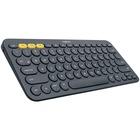 Logitech K380 Multi-Device Bluetooth Keyboard - Wireless Connectivity - Bluetooth - 79 Key - QWERTY Layout - Black