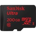 SanDisk Ultra 200 GB Class 10/UHS-I (U1) microSDXC - 90 MB/s Read - 10 Year Warranty