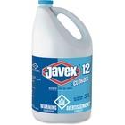 Clorox Javex 12 Bleach - Ready-To-Use Liquid - 5 L - Bottle - 1 Each - Clear