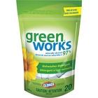 Green Works Dishwasher Detergent - Tablet - 20 / Pack
