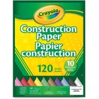 Crayola Construction Paper - Home Project, School Project - 1 Pack - Assorted - Paper