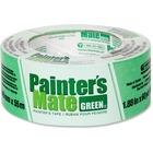 "Painter's Mate Green Painter's Mate Green Tape - 60 yd (54.9 m) Length x 1.88"" (47.8 mm) Width - Residue-free, Flexible - 1 Each - Green"