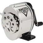 X-Acto KS Manual Pencil Sharpener - Desktop - 8 Hole(s) - Chrome, Black