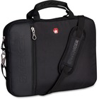 "Swissgear Carrying Case (Portfolio) for 13.3"" Notebook - Black - Scratch Resistant Interior - Polytex, 1680D Polyester - Trolley Strap, Shoulder Strap - 10.75"" (273.05 mm) Height x 14"" (355.60 mm) Width x 1.50"" (38.10 mm) Depth"