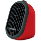 Honeywell Heat Bud Ceramic Portable-Mini Heater HCE100 - Ceramic - Electric - Electric - 170 W to 250 W - 2 x Heat Settings - 250 W - Indoor - Portable, Desktop, Tabletop - Red