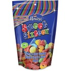 Mondoux Sweet Sixteen Sweet/Sour Gummy Candy - Assorted - Resealable Container - 1 Pack