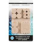 Merangue Self-adhesive Felt Pads - Self-adhesive - Felt - 25/Pack