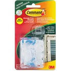 Command Outdoor Light Clips - for Outdoor - Clear - 1 Pack