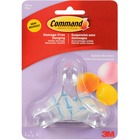 Command Party Hooks Balloon Bunchers - 3 Hooks - for Balloon - Clear, Assorted - 1 Pack