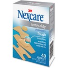 Nexcare Heavy-duty Fabric Bandages - 40/Box - Beige - Fabric