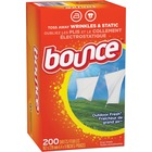 Bounce 4-in-1 Dryer Sheets - Sheet - Fresh Scent - 1 Each - White