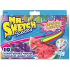 Mr. Sketch Scented Washable Markers - Chisel Marker Point Style - Assorted - 10 / Set