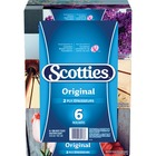 Scotties Facial Tissue - 2 Ply - White - Eco-friendly - For Face - 126 - 6 / Pack
