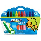 Prang be-be Jumbo Crayons - Assorted - 6 / Box