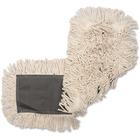 "Genuine Joe Disposable Cotton Dust Mop Refill - 24"" Width5"" Depth - Cotton"