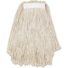 Genuine Joe 4-ply Cotton Narrow Band Mophead - Cotton