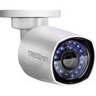 TRENDnet TV-IP314PI 4 Megapixel Network Camera - Bullet - 98.43 ft (30000 mm) Night Vision - H.264+, Motion JPEG, H.264 - 1920 x 1080 - CMOS