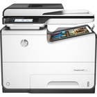 HP PageWide Pro 577dw Page Wide Array Multifunction Printer - Color - Copier/Fax/Printer/Scanner - 50 ppm Mono/50 ppm Color Print - 2400 x 1200 dpi Print - Automatic Duplex Print - 1200 dpi Optical Scan - 550 sheets Input - Fast Ethernet - Wireless LAN