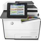 HP PageWide Enterprise 586 586dn Page Wide Array Multifunction Printer - Color - Copier/Printer/Scanner - 50 ppm Mono/50 ppm Color Print - 2400 x 1200 dpi Print - Automatic Duplex Print - 600 dpi Optical Scan - 550 sheets Input - Gigabit Ethernet