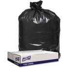"""Genuine Joe 1.6 mil Trash Can Liners - 43"""" (1092.20 mm) Width x 47"""" (1193.80 mm) Length x 1.60 mil (41 Micron) Thickness - Low Density - Black - 100/Carton - Can"""