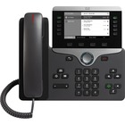 Cisco 8811 IP Phone - Wall Mountable, Desktop - Charcoal - VoIP - Caller ID - SpeakerphoneUser Connect License, Unified Communications Manager - 2 x Network (RJ-45) - PoE Ports - SIP, LLDP-PoE, SDP, UDP, RTP, DHCP, GARP, RTCP, PPDP, LLDP, LLDP-MED, ... Pr