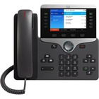 Cisco 8851 IP Phone - Bluetooth - Desktop, Wall Mountable - Charcoal - VoIP - Caller ID - SpeakerphoneUser Connect License, Unified Communications Manager - 2 x Network (RJ-45) - USB - PoE Ports - Color - SIP, LLDP-PoE, SDP, UDP, RTP, DHCP, GARP, RTCP, PP