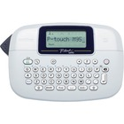 "Brother PT-M95 Handheld Label Maker - Thermal Transfer - 7.50 mm/s Mono - 1 Fonts - 230 dpi - Tape, Label - 0.35"" (9 mm), 0.47"" (12 mm) - LCD Screen - 4 Batteries Supported - AAA - Navy Blue, Blue Gray - Handheld - Auto Power Off, Vertical Printing, Label"
