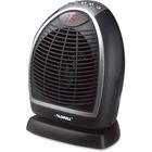 Lorell LED Digital Heater - Electric - Electric - 900 W to 1.50 kW - 2 x Heat Settings - 1500 W - Portable - Black