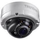 TRENDnet TV-IP345PI Network Camera - Dome - 65.62 ft (20000 mm) Night Vision - 3GPP, Motion JPEG, H.264 - 2688 x 1520 - 4.2x Optical - CMOS