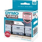 """Dymo LabelWriter Labels - 1"""" Width x 3 1/2"""" Length - Round - White - 100 / Roll"""