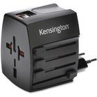 Kensington International Travel Adapter - 120 V AC, 230 V AC Input - 5 V DC/2.40 A Output