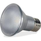 Satco 7-Watt PAR20 LED Bulb - 7 W - 50 W Incandescent Equivalent Wattage - 120 V AC - 500 lm - PAR20 Size - Silver - Warm White Light Color - E26 Base - 25000 Hour - 4940.3°F (2726.8°C) Color Temperature - 80 CRI - 40° Beam Angle - Dimmable -