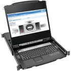 Tripp Lite B030-008-17-IP NetDirector 8-Port 1U Rack-Mount Console HDMI KVM Switch