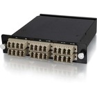 C2G 24-Strand MTP/MPO-LC Multimode 62.5/125 Module - Method B - 24 Port(s) - 24 x - 2 x MT Port(s) - Wall Mountable