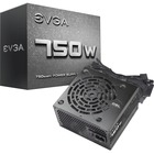 EVGA 750W Power Supply - Internal - 120 V AC, 230 V AC Input - 750 W / 3.3 V DC, 5 V DC, 12 V DC, 5 V DC, -12 V DC - 1 +12V Rails - 1 Fan(s)