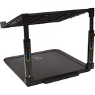 "Kensington SmartFit Laptop Riser wPhone Charging - Up to 15.6"" Screen Support - 3.50 kg Load Capacity - 8.70"" (220.98 mm) Height x 10.10"" (256.54 mm) Width x 9.80"" (248.92 mm) Depth - Desktop - Black"