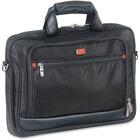 "MANCINI Biztech Carrying Case (Briefcase) for 17.3"" Notebook - Black - Bump Resistant, Scratch Resistant, Slip Resistant - 1680D Ballistic Nylon - Shoulder Strap - 12"" (304.80 mm) Height x 16.25"" (412.75 mm) Width x 1.75"" (44.45 mm) Depth"