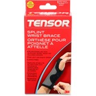 Ace Reversible Splint Wrist Brace - Reversible, Adjustable, Breathable, Latex-free, Comfortable, Durable, Hook & Loop Closure - Gray