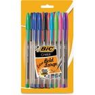 BIC Ballpoint Pen - Assorted - Clear Barrel - 1 Pack