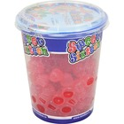 Mondoux SWEET SIXTEEN Raspberry Gummy Candy Cup - Red Raspberry - Resealable Container - 200 g - 1 Each Per Cup
