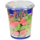 Mondoux SWEET SIXTEEN Sour Watermelon Candy Cup - Sour Watermelon - Resealable Container - 200 g - 1 Each Per Cup