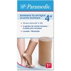 "Paramedic Elastic Bandage 4'' - 4"" (101.60 mm) x 14.76 ft (4500 mm) - 6 Per Box - Fabric"