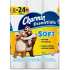 Charmin Essentials Soft Bathroom Tissue - 2 Ply - 176 Sheets/Roll - Soft, Clog-free, Septic-free - For Toilet - 12 Rolls Per Pack - 12 / Pack