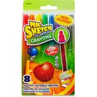Mr. Sketch Scented Crayons - Orange, Apple, Grape, Banana, Blueberry, Black Raspberry, Cinnamon, Cherry - 8 / Pack