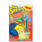 Mr. Sketch Colored Pencil - Assorted Lead - 12 / Pack