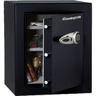 "Sentry Safe T8-331 Security Safe - 123.20 L - 3 Live-locking Bolt(s) - Internal Size 26"" x 20.5"" x 14.1"" - Overall Size 27.7"" x 21.7"" x 19.8"" - Black - Steel"