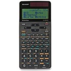 Sharp Calculators WriteView Scientific Calculator - 330 Functions - Slide-on Hard Case, Textbook Display - 4 Line(s) - Battery Powered - 1 Each