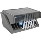 Tripp Lite CSD1006AC Cradle - Wired - Notebook, Tablet PC, e-book Reader - Charging Capability - Black, Gray