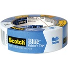 "ScotchBlue Original Painter's Tape, 2090-36NF, 36 mm x 55 m - 60.1 yd (55 m) Length x 1.42"" (36 mm) Width - Residue-free, Removable - Blue"